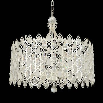 Allegri 028754017FR001 Ten Light Pendant Prive Silver - One Size (One Size - Clear)