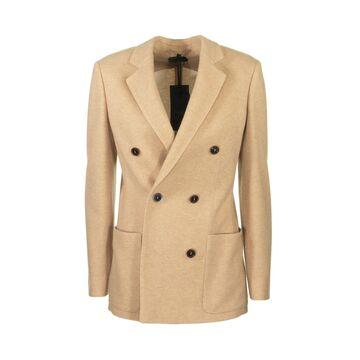 Agnona Cashmere Double Breasted Jacket Blazer