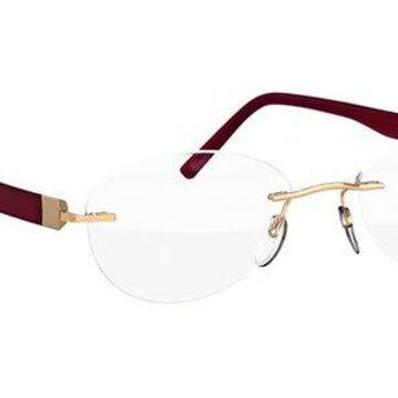 Silhouette Inspire 5506 DK 7530 52 New Unisex Eyeglasses