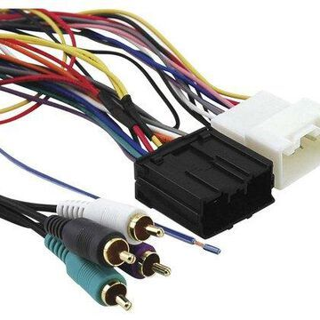 Metra - Installation Kit for Select Mitsubishi Eclipse and Endeavor Vehicles - Multicolor