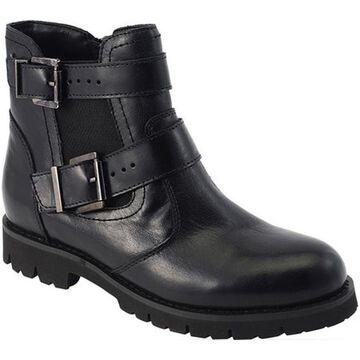 David Tate Women's Jaden Ankle Boot Black Leather