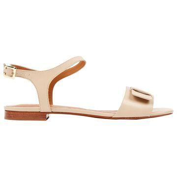 Robert Clergerie Beige Leather Sandals