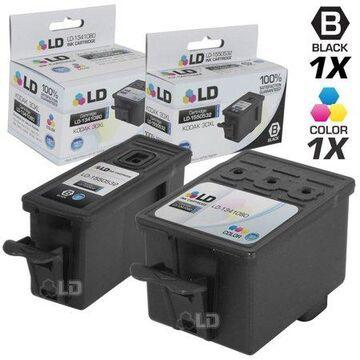 LD Products Compatible Replacement for Kodak 30XL / 30 2 Pk HY Cartridges Includes:1 1550532 Black & 1 1341080 Color
