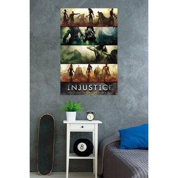 Trends International Injustice Banne Wall Poster 22.375