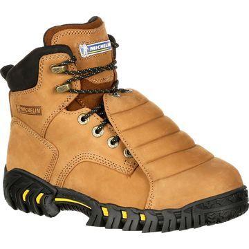 Michelin Sledge Steel Toe Metatarsal Work Boots, #XPX761