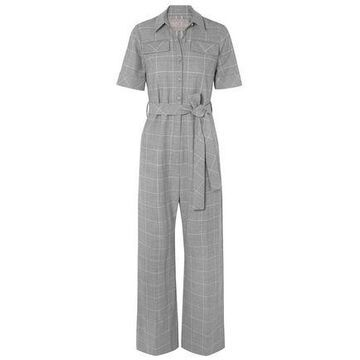 Lela Rose Checked Cady Jumpsuit