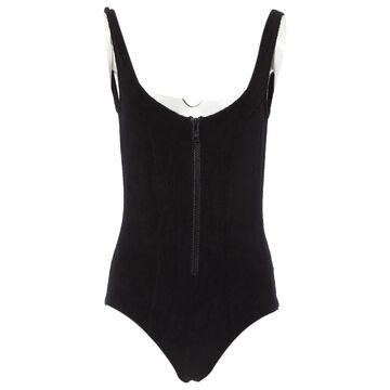 Lisa Marie Fernandez \N Black Sponge Swimwear