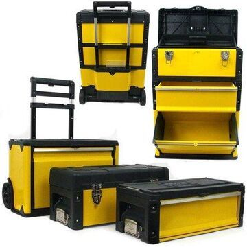Stalwart 3-in-1 Oversized Portable Tool Chest
