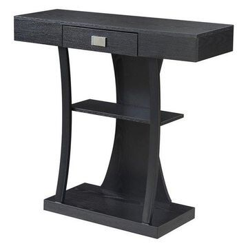 Convenience Concepts Newport Harri Console Table, Black