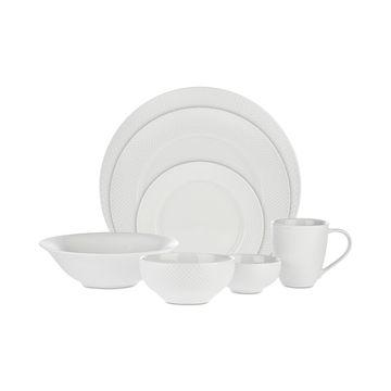 Pique 42-Pc. Dinnerware Set, Service for 8