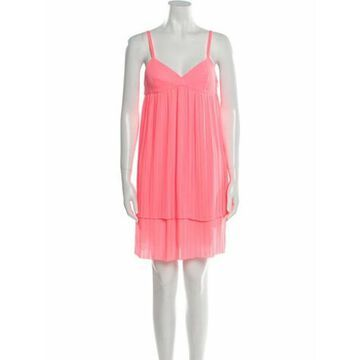 V-Neck Knee-Length Dress w/ Tags