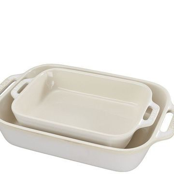 Staub Ceramics 2pc Rectangular Baking Dish Set