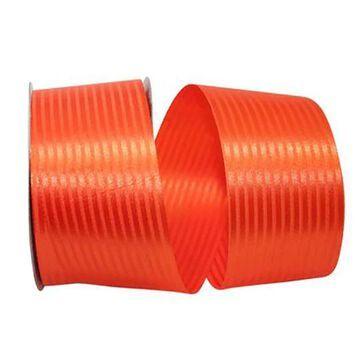 "JAM Paper 2.5"" Tuxedo Stripe Ribbon in Orange   2.5"" x 50yd   Michaels"