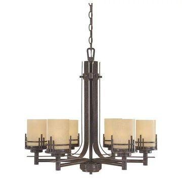 Designers Fountain 82186-WM 6-Light Chandelier