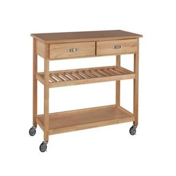 Home Styles Natural Designer Utility Cart