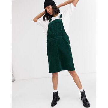 Dr Denim mini cord dress-Green