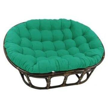 Blazing Needles 78-inch Double Papasan Indoor Cushion (Emerald)