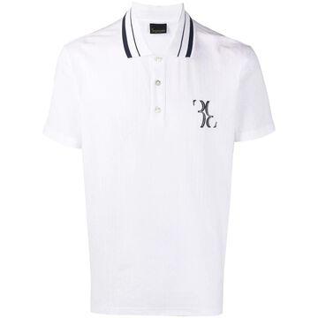 Double B jacquard polo shirt