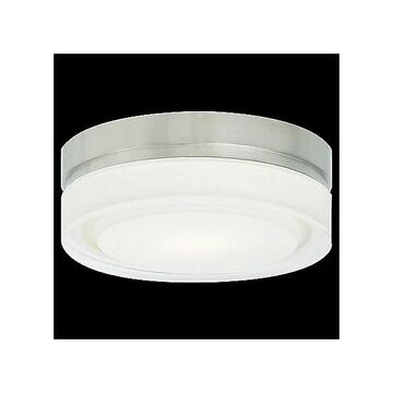 Cirque Flush Mount Ceiling Light by Tech Lighting - Color: Silver - Finish: Polished Chrome - (700CQSC-LED277)
