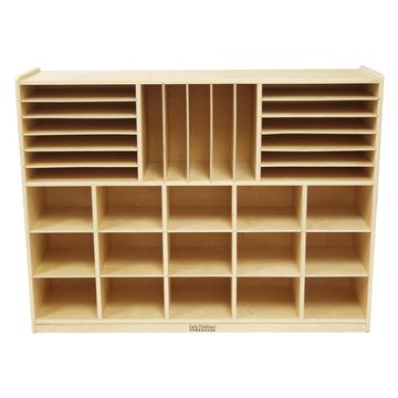 ECR4KIDS Multi Section Storage Cabinet - No Bins