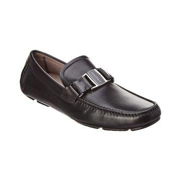 Salvatore Ferragamo Leather Moccasin