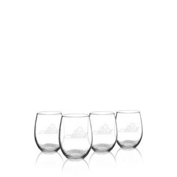 Cathy's Concepts My State Stemless Wine Glasses - Virginia -