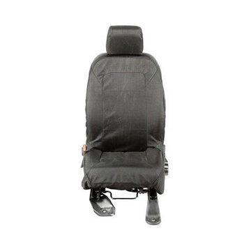 Rugged Ridge 13216.02 Seat Cover For Jeep Wrangler (JK), Black Solid Design