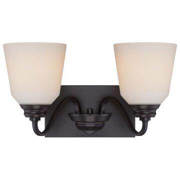 Nuvo Lighting 62/377 Calvin Vanity Light Bathroom Fixture