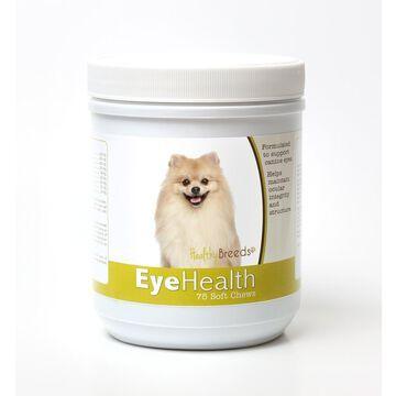 Healthy Breeds 840235145929 Pomeranian Eye Health Soft Chews - 75 Count