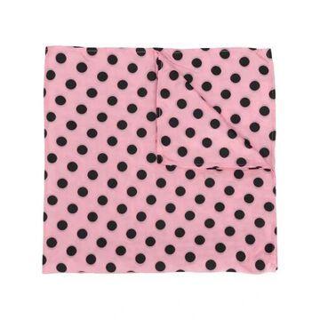MIU MIU polka dot print scarf