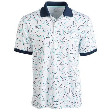 Men's Printed Polo, Created for Macy's