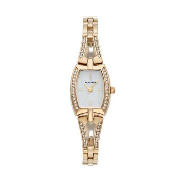 Armitron Women's Crystal Watch - 75/5502MPGP