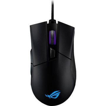 ASUS - ROG Gladius II Origin Wired Optical Gaming Mouse - Black
