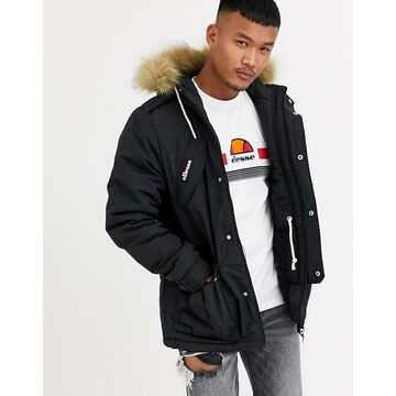 ellesse Blizzard parka in black