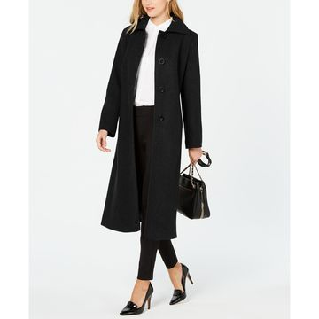 Single-Breasted Maxi Coat