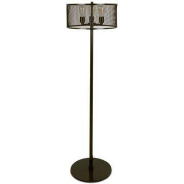Lumisource Indy Mesh Industrial Floor Lamp