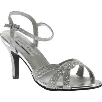 Touch Ups Women's Dulce Strappy Sandal Silver Shimmer