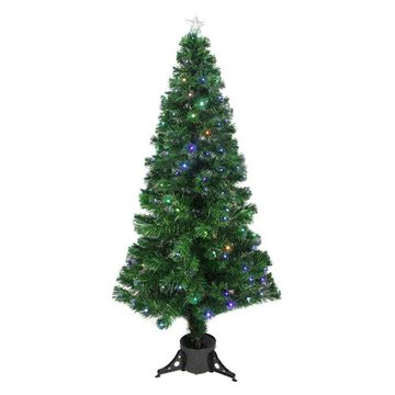 Northlight 6 ft. Pre Lit LED Color Changing Fiber Optic Christmas Tree with Star