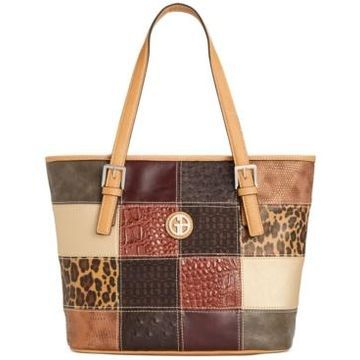 Giani Bernini Patchwork Tote, Created for Macy's