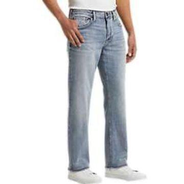 Silver Jeans Co. Grayson Light Blue Wash Classic Fit Jeans