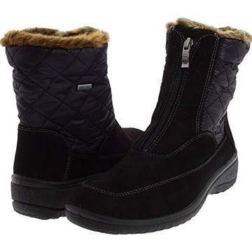 ara Maeko GORE-TEX(r) (Black Combo) Women's Waterproof Boots
