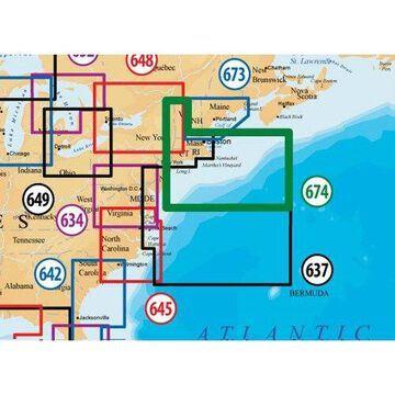 Navionics Platinum Plus Boston and New York Nautical Charts For Humminbird Models New