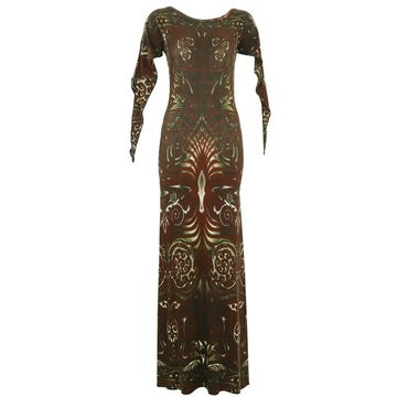 Jean Paul Gaultier Burgundy Viscose Dresses