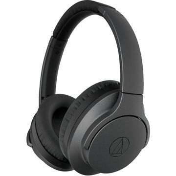 Audio-Technica - QuietPoint ATH-ANC700BT Wireless Noise Canceling Over-the-Ear Headphones - Black