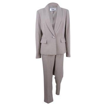 Le Suit Women's Single-Button Pantsuit