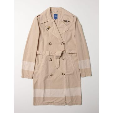 Double-breasted Fay cotton trench coat
