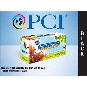 Premium Compatibles TN225BK-PCI PCI Brother Tn-225Bk Black Toner Ctg.
