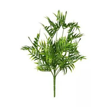 Vickerman Green Bamboo Leaf Bush - Set Of 4 -