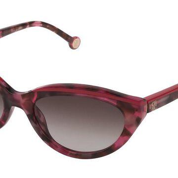 Carolina Herrera SHE833 09SJ Men's Sunglasses Pink Size 56