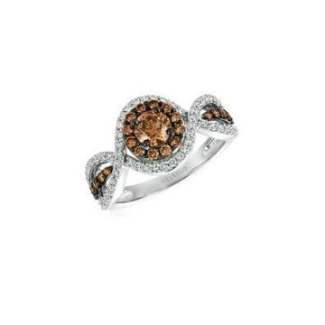 Diamond & 14K White Gold Ring